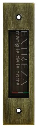 Ручка для раздвижных дверей Extreza P604 матовая бронза F03