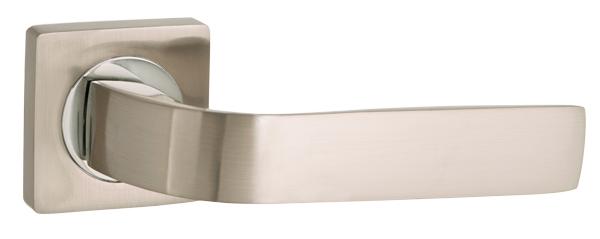 Дверная ручка Punto (Пунто) INTEGRA ZQ SN/CP-3 матовый никель