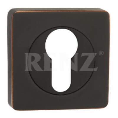 Накладка на цилиндр Renz  Черная с патиной Арт 90990