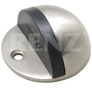 Ограничитель дверной напольный Renz матовый никель Арт 67837