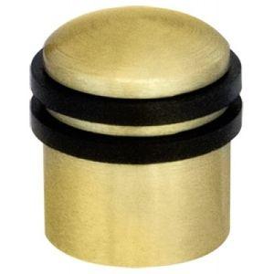 Ограничитель двери 30 мм напольный Armadillo золото Арт 58270