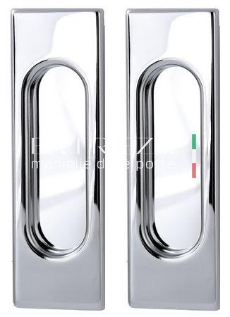 Ручка для раздвижных дверей Extreza P401 полированный хром F04