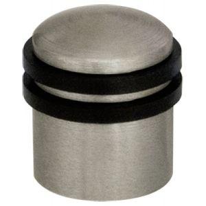Ограничитель двери 30 мм напольный Armadillo матовый никель Арт 58271