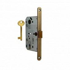 Замок AGB магнитный флажковый ключ бронза Арт