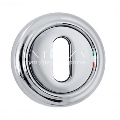 Накладка под ключ флажковый Extreza полированный хром 2057