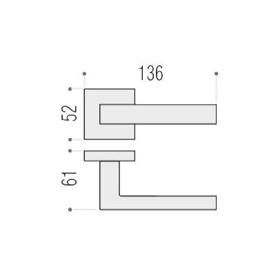 Colombo ELLESSE BD 21 RSB матовый хром Арт 100153