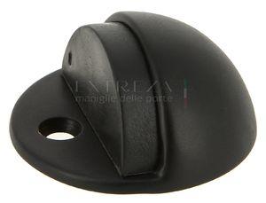 Ограничитель дверной напольный Extreza D41 черный матовый F22