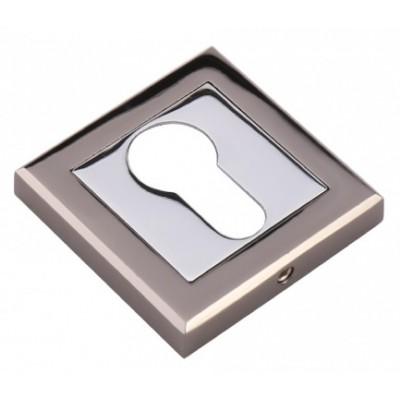 Накладка под цилиндр  ADDEN BAU черный никель / хром Арт 103845