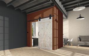 Дверь Амбарная лофт 1051
