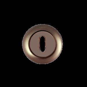 Накладка флажковый ключ Renz матовая античная бронза Арт 67679
