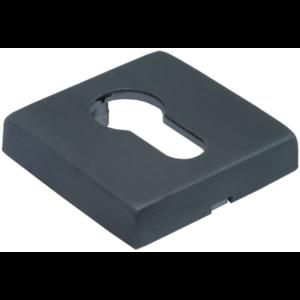 Накладка на цилиндр MORELLI Luxury LUX-KH-Q BLACK черная бронза