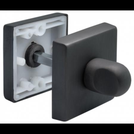 Ручка фиксатора MORELLI Luxury LUX-WC-Q BLACK черная бронза
