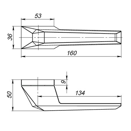 """Дверная ручка Armadillo """"IRON"""" UCS SN-3 матовый никель"""