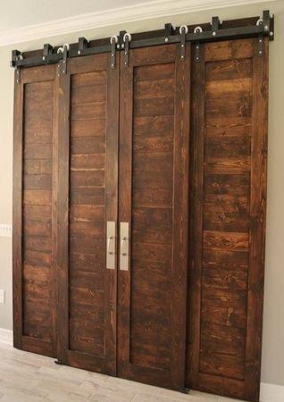 Амбарные двери, индивидуальный проект
