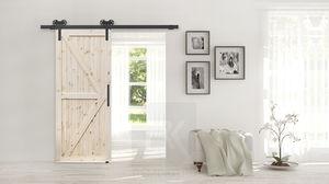 Дверь Амбарная лофт 1052