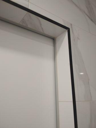 Межкомнатная скрытая дверь эмаль покраска по RAL